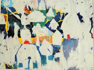 Betty Morris Parker_My Little Village_Collagedecollage_19x22
