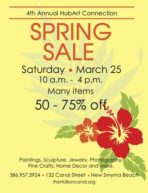 HubArt Spring Sale 2017 10 to 4